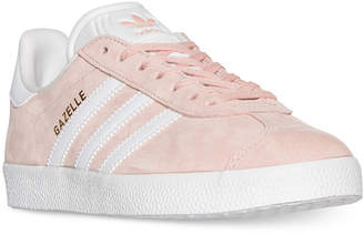 adidas Women's Gazelle Casual Sneakers from Finish Line $79.99 thestylecure.com