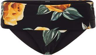Onia +WeWoreWhat Sardinia Floral-Print Bikini Briefs Size: M