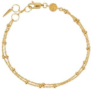 Missoma Gold Double Bauble Bracelet