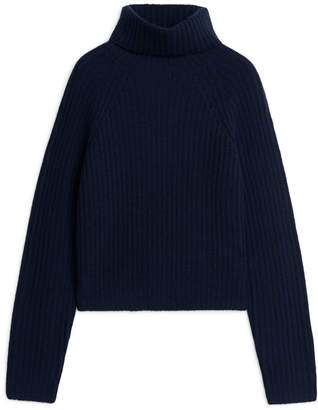 Arket Cashmere Roll-Neck Jumper