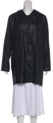 Helmut Lang Hooded Zip-Up Jacket