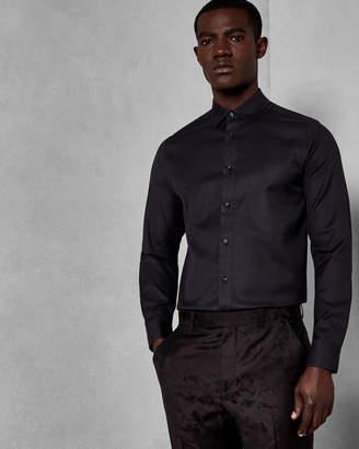 Ted Baker LEEK Textured woven cotton shirt