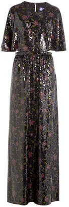 Emilio Pucci Sequin-Embellished Silk Maxi Dress