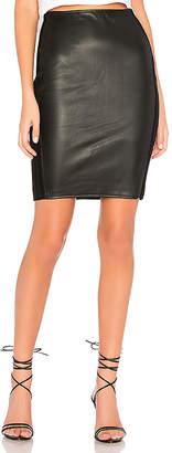 Bailey 44 Tolstoy Eco-Leather Pencil Skirt