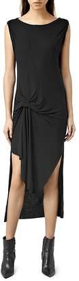 ALLSAINTS Riviera Tavi Knot Dress $178 thestylecure.com