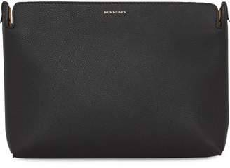 Burberry The Medium Tri-tone Leather Clutch