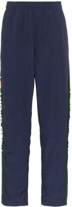 Polo Ralph Lauren logo stripe track pants