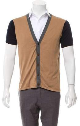 Paul Smith Short Sleeve Knit Cardigan