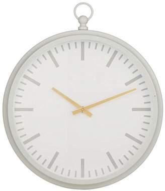 Amalfi by Rangoni Luna Wall Clock (Set of 2), Grey, White