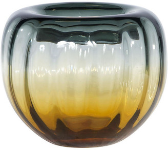 Sunset Bowl - Amber/Gray - Bradburn Home