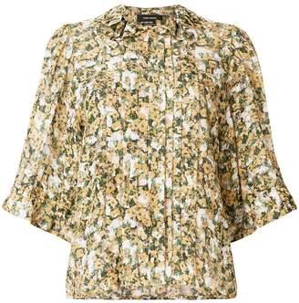 Isabel Marant micro floral print blouse