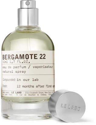 Le Labo (ルラボ) - Le Labo - Bergamote 22 Eau de Parfum, 50ml