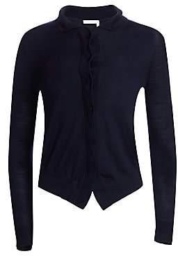 Chloé Women's Wool High-Low Cardigan