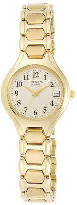 JCPenney Citizen Quartz Citizen Womens Gold-Tone Watch EU2252-56P