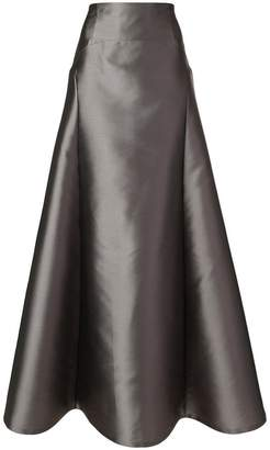 Alberta Ferretti full high waisted skirt