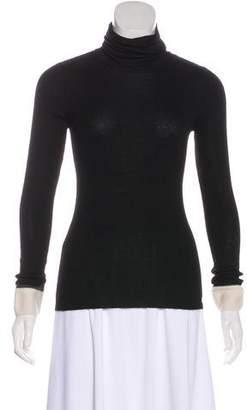 Chanel Cashmere & Silk Turtleneck Sweater