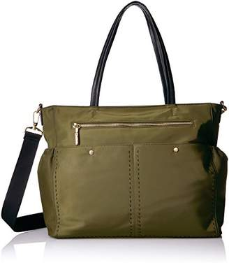 Milly Solid Stitch Diaper Bag