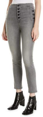 J Brand Natasha Sky-High Crop Skinny Jeans