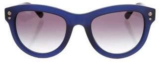 Versace Gradient Logo Sunglasses w/ Tags