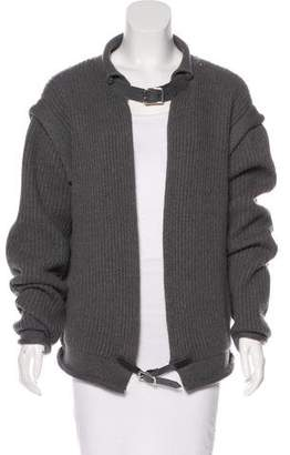 Christopher Kane Belt-Accented Cashmere Sweater