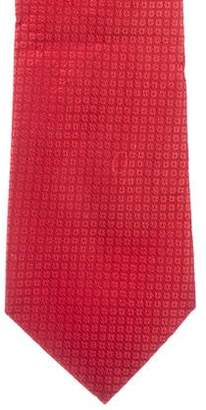 Valentino Floral Jacquard Silk Tie