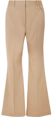 3.1 Phillip Lim Wool-blend Flared Pants - Beige