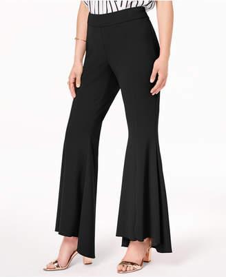 INC International Concepts I.n.c. Flared High-Low Pants