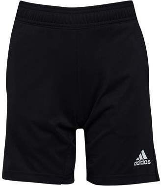 adidas Boys Tiro 17 Training Shorts Black/White