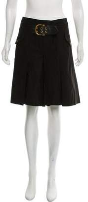 Gucci Pleated Knee-Length Shorts