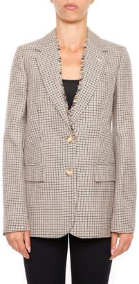 Stella McCartney Tailoring Check Blazer