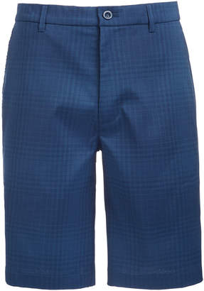 "Greg Norman Attack Life by Men's Tonal Plaid 9.75"" Shorts, Created for Macy's"