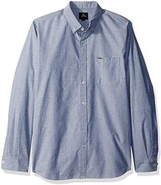 Rip Curl Men's Ourtime Long Sleeve Shirt