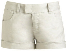 Extend Tab Cuffed Linen Short