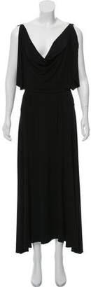 Fendi Draped Evening Dress