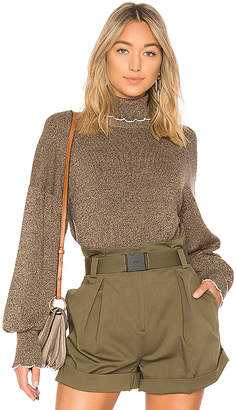 See by Chloe Turtleneck Trim Sweater