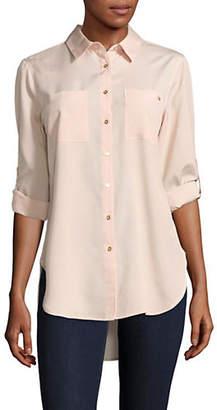 Calvin Klein Floral Button Down Shirt