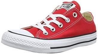 Converse Chuck Taylor All Star, Unisex-Adult's Sneakers, Red (Marron), (35 EU)