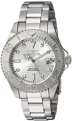 Invicta Women's 'Pro Diver' Quartz Stainless Steel Diving Watch