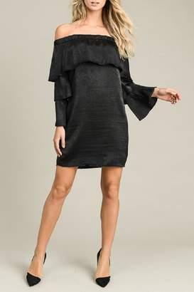 24c70ae110c Black Off The Shoulder Dress - ShopStyle Australia