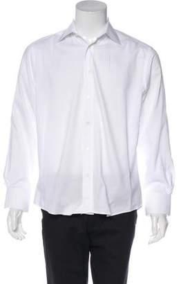 Valentino Button-Up Dress Shirt