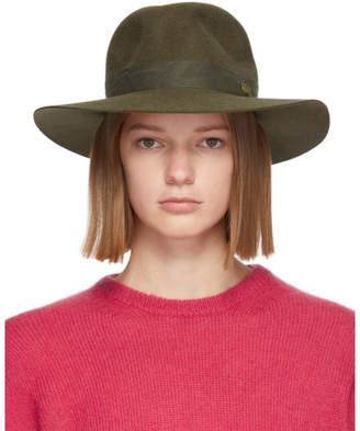 Maison Michel Green Yoshiko Felt Hat