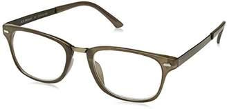 A. J. Morgan A.J. Morgan Unisex-Adult Corporal - Power 1.00 39004 Rectangular Reading Glasses