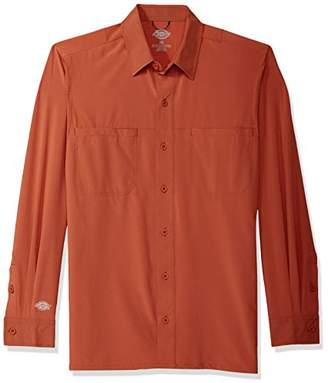 Dickies Men's Long Sleeve Cooling Shirt with Xylitol