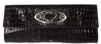 Etro Embossed Embellished Clutch