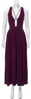 Style Stalker StyleStalker Cutout-Accented Maxi Dress