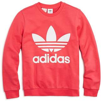adidas Girls' Logo Sweatshirt - Big Kid