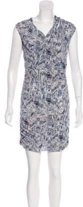 IRO Abstract Print Mini Dress
