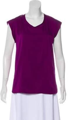 3.1 Phillip Lim Silk Cap Sleeve Blouse