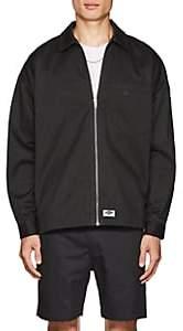 Dickies CONSTRUCT Men's Logo Cotton Oversized Shirt Jacket - Dark Gray