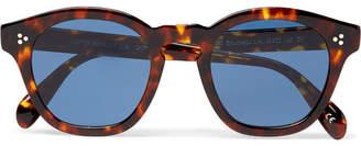 Oliver Peoples Boudreau L.A D-Frame Tortoiseshell Acetate Sunglasses - Brown